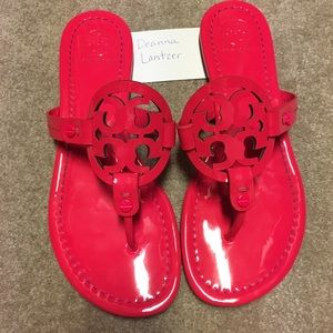 Tory Burch Neon Miller Sandals size 7